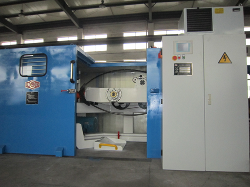 Double-Twist bunching machines