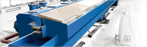 Slip type aluminum and alloy rod breakdown machine